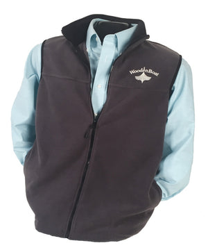 Fleece Vest - Gray