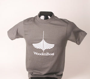 WoodenBoat Classic Gray T-Shirt - Small