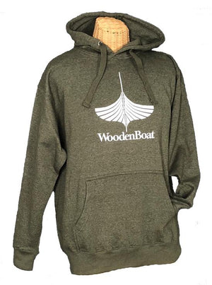 Hooded Sweatshirt - Green Heather