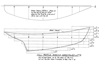 Hattie - Half Model Plan