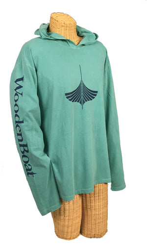 Hooded Jersey - Seafoam