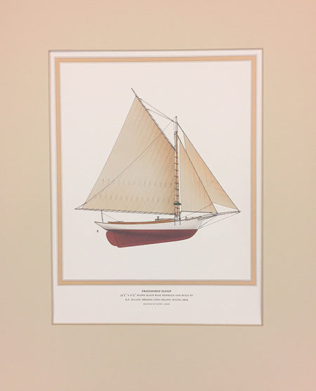 Friendship Sloop: Matted