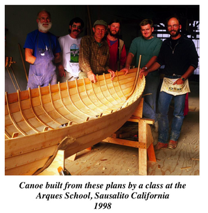 Building the Lapstrake Canoe - plans and instructions