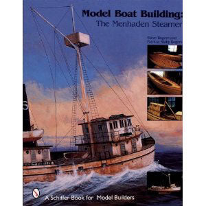 Menhaden Steamer Model Boatbuilding