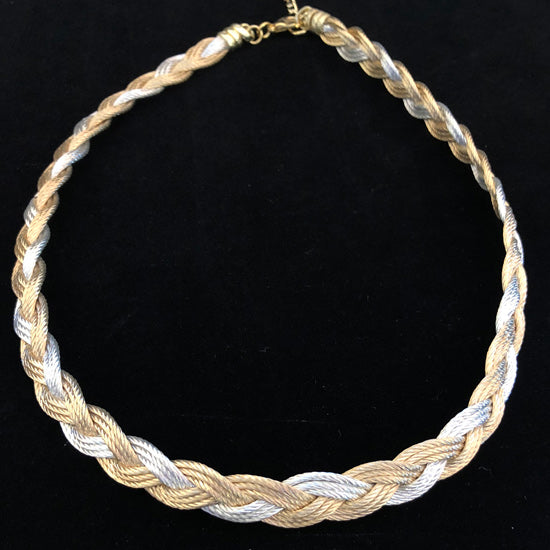 Turks Head - Gold/Silver - Necklace or Bracelet