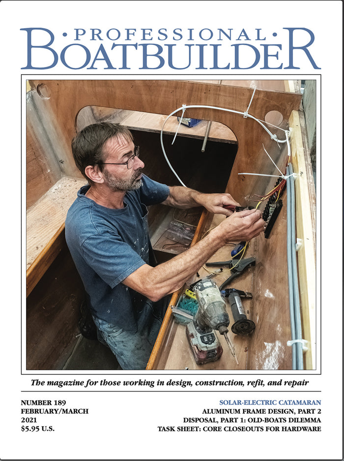Professional BoatBuilder #189 February/March 2021