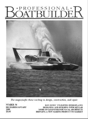 Professional BoatBuilder #56  Dec/Jan 1999