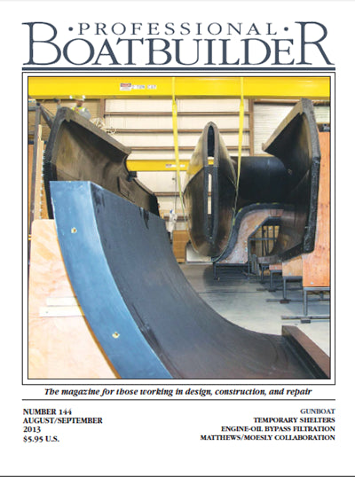 Professional BoatBuilder #144 Aug/Sept 2013