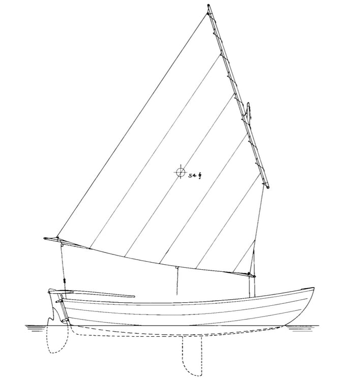 "11'2"" Shellback Dinghy - STUDY PLAN-"
