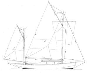 Day-Mower 25 Sea Bird Yawl