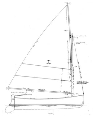 goeller 12 ft dinghy