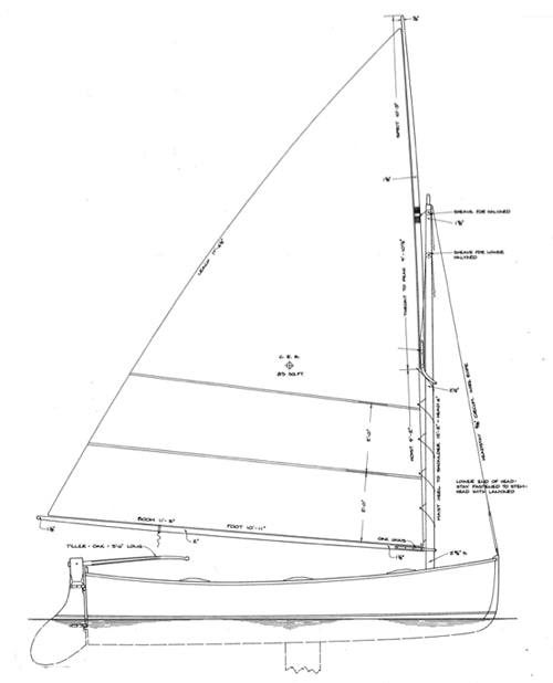 Goeller  12' Dinghy - STUDY PLAN -
