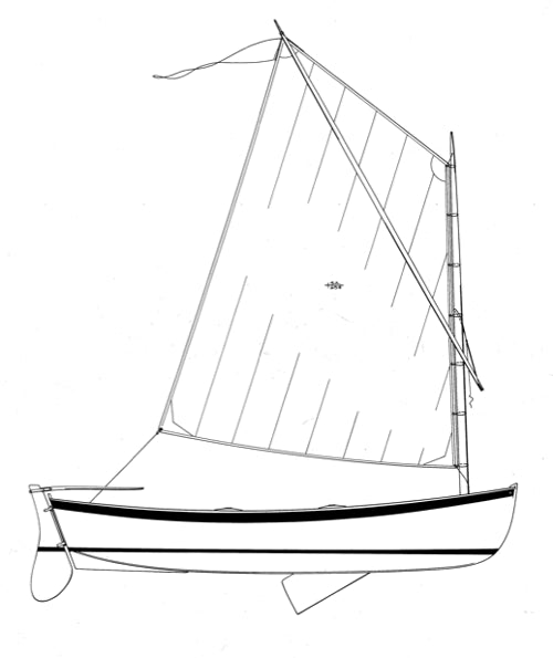 12' Catspaw Dinghy