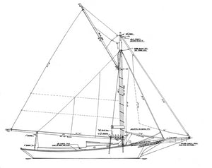 Friendship Sloop PEMIQUID - STUDY PLAN-