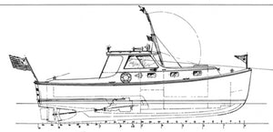 Eldridge McInnis 32' Lobstercruiser