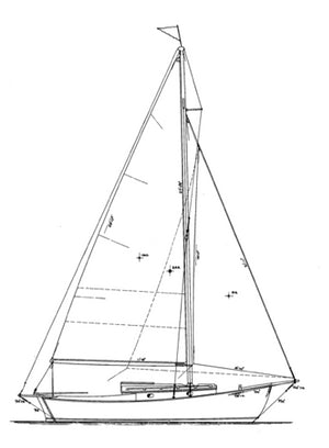 Warner 20' Sloop LITTLE GULL