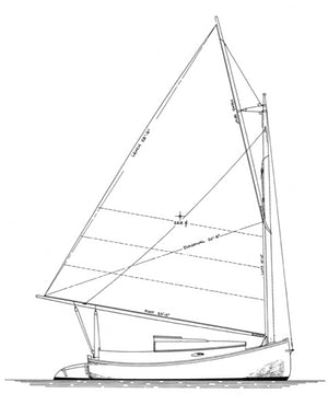 Williams 18' Catboat - STUDY PLAN-