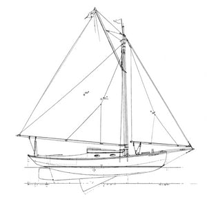 Harris 26' Gaff Sloop
