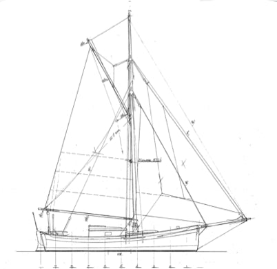29' Gartside Cutter - STUDY PLAN-