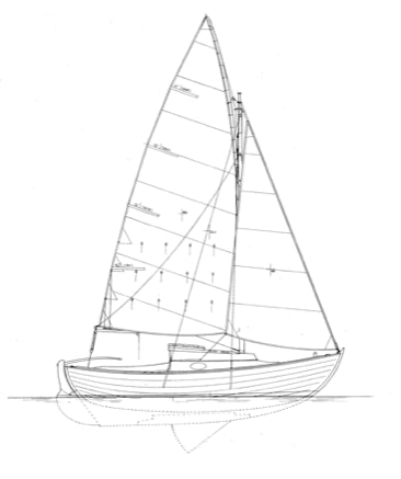 22'2 Cruising Sloop, Gray Seal - STUDY PLAN-