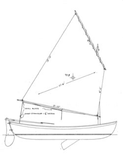 14' Maine Coast Peapod - STUDY PLAN-