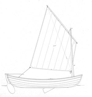 13 sailing peapod profile