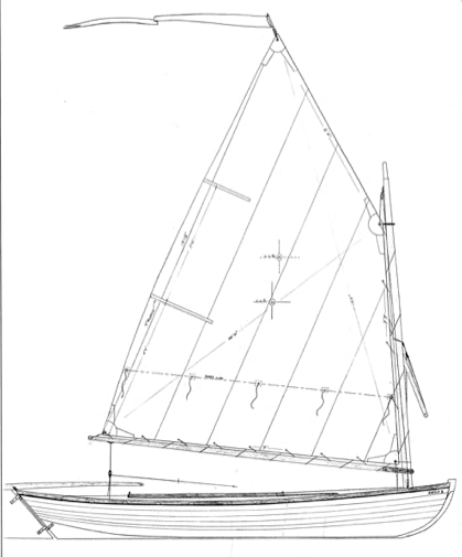 13'4 Melonseed skiff - STUDY PLAN-