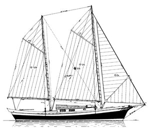 plan 32 mystic sharpie ketch profile