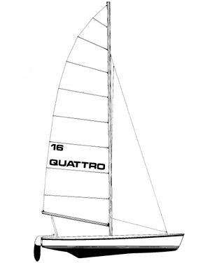 16 quattro catamaran profile