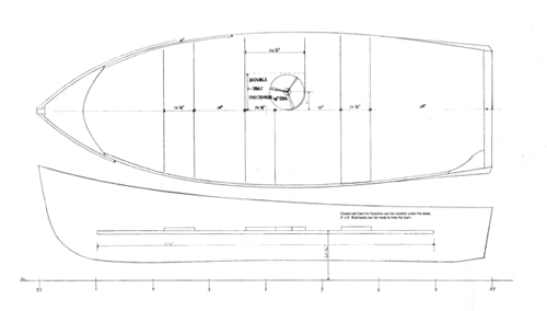Jericho Bay Lobster Skiff  - STUDY PLAN -