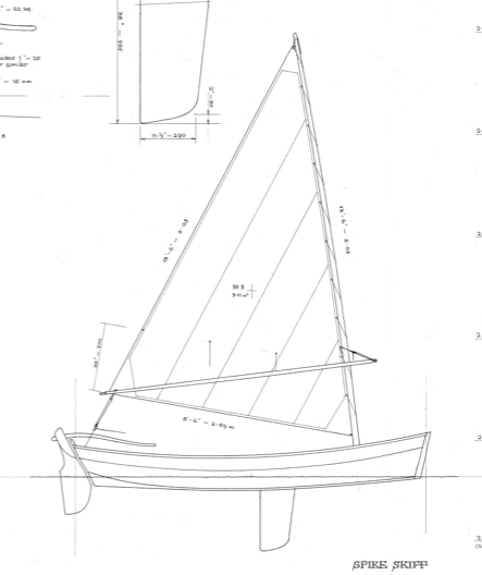 "12' 3"" Spike Skiff  - STUDY PLAN -"