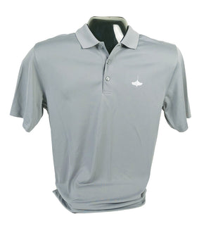 Gusty Grey Lightweight Polo Shirt