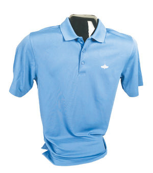 Carolina Blue Lightweight Polo Shirt