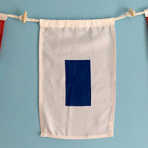 Decorative Signal Flag - S