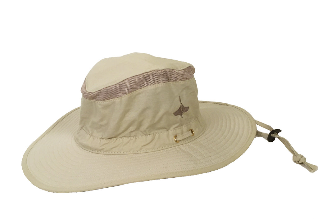 Lightweight Sailing Hat with WoodenBoat logo embroidered on the side