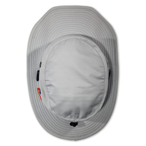 Shelta Sailing Hat - Osprey Silver - top view