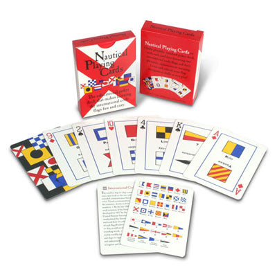 Signal Flag Playing Cards