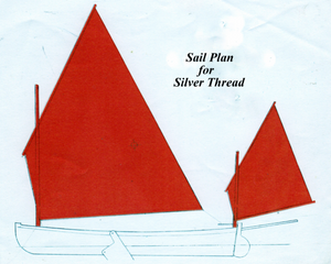 Building the Silver Thread - sails