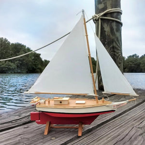 "Skipjack 12"" Sailboat Model Kit"