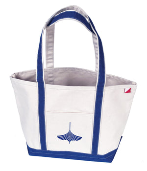Medium Tote in Cobalt Blue trim