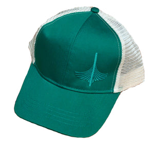 WoodenBoat Trucker Hats - Emerald