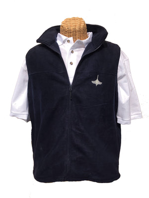 Fleece Vest - Navy Blue