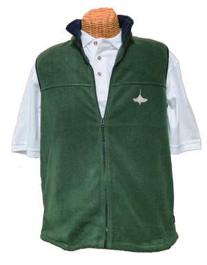 Fleece Vest - Green