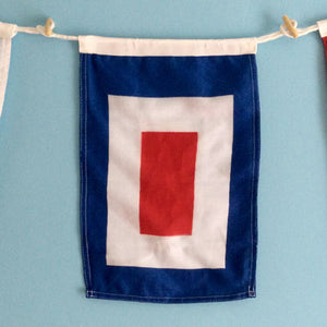 Decorative Signal Flag - W