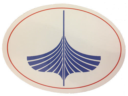 WoodenBoat Oval STICKER