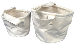 Canvas Water Buckets, choose from 2 types
