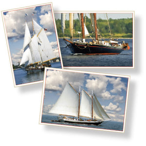 Windjammers Downeast Postcards