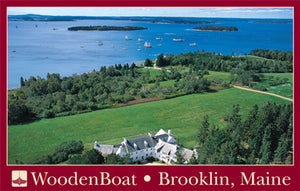 WoodenBoat Publications Overhead Poster