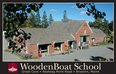 WoodenBoat School Poster