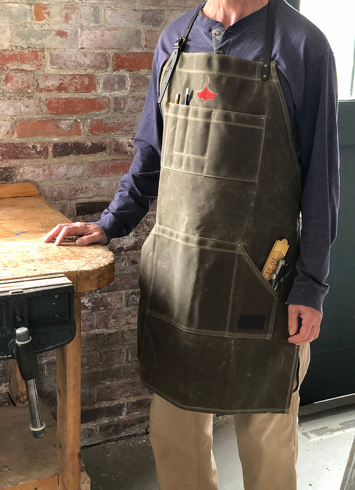 Woodworker's Waxed Apron